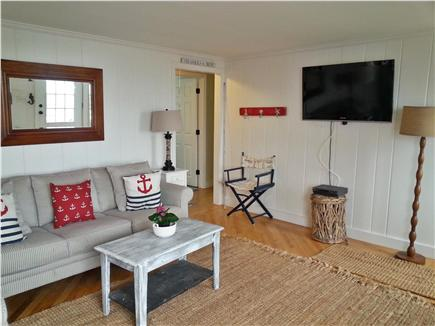 On Falmouth Harbor, Desirable  Cape Cod vacation rental - Comfortable living room—enjoy the view.