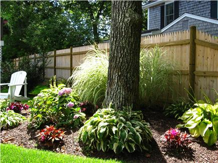 Harwich Port Cape Cod vacation rental - Relax and watch people walk by or read a book in fenced yard
