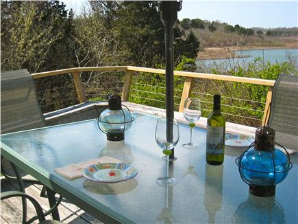 Orleans Cape Cod vacation rental - Enjoy breakfast, lunch or dinner overlooking Rachel's Cove