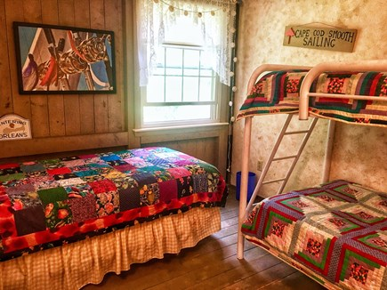 Orleans Cape Cod vacation rental - Middle bedroom has one twin and one bunk bed