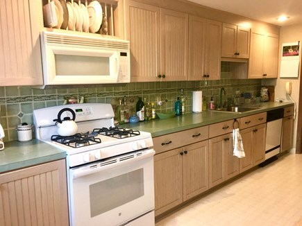 Orleans Cape Cod vacation rental - Fully equipped kitchen has direct access to deck and grill