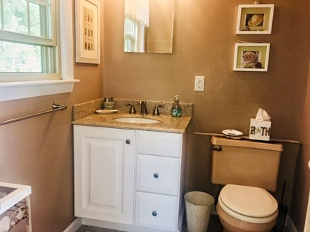 Orleans Cape Cod vacation rental - Master half bath