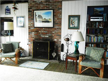 "Orleans Cape Cod vacation rental - Enjoy books about Cape Cod, games, jigsaw puzzles and a 50"" TV"