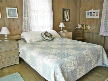 Orleans Cape Cod vacation rental - Bright Master BR has large closet, new half bath & slider to deck