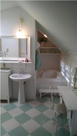 Orleans Cape Cod vacation rental - Large master bathroom with jacuzzi tub