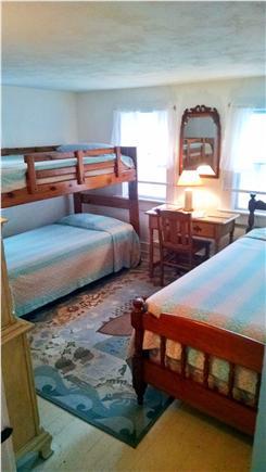 Orleans Cape Cod vacation rental - Bunkbed room + twin bed - great kids room, sleeps 3