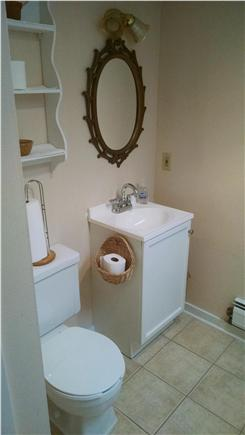 Orleans Cape Cod vacation rental - Front hall bath - 2nd floor