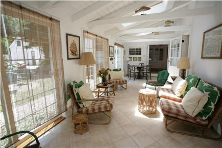 Orleans Cape Cod vacation rental - Sunroom, front of home.