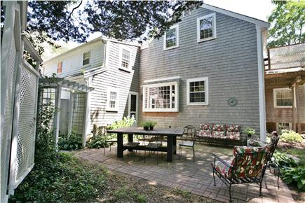 Orleans Cape Cod vacation rental - Secluded patio