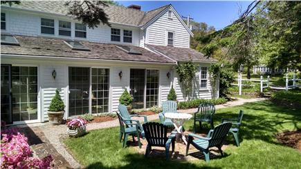 Orleans Cape Cod vacation rental - Sun porch with side yard