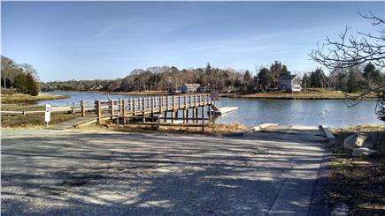 Orleans Cape Cod vacation rental - Town dock 300 yards from house