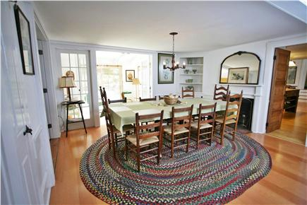 Orleans Cape Cod vacation rental - Dining room seats 10