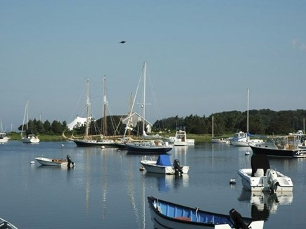 West Falmouth Cape Cod vacation rental - A view of West Falmouth Harbor