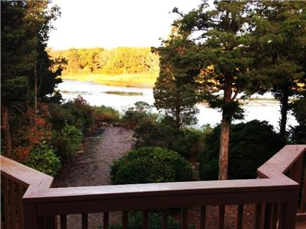 West Falmouth Cape Cod vacation rental - Water view from deck just off of West Falmouth Harbor