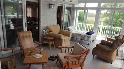 Sagamore Beach, Bourne Sagamore Beach vacation rental - Enjoy yourself anytime on this comfortable 3 season porch.