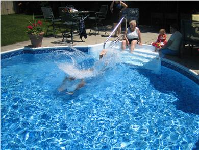 Sandwich Cape Cod vacation rental - SPLASH!!!!