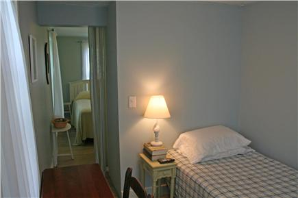 Brewster, Linnell Landing beach area, Br Cape Cod vacation rental - Main floor twin bedroom, off double bedroom