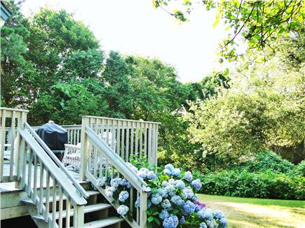 Brewster, Linnell Landing beach area, Br Cape Cod vacation rental - 1st floor deck