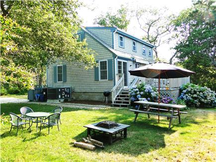 Brewster, Linnell Landing beach area, Br Cape Cod vacation rental - Lovely area outside to rest, read, and eat meals