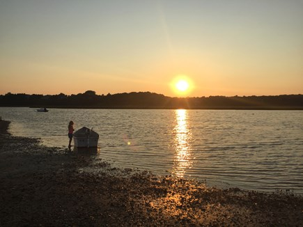 East Orleans Cape Cod vacation rental - Priscilla Landing At Sunset