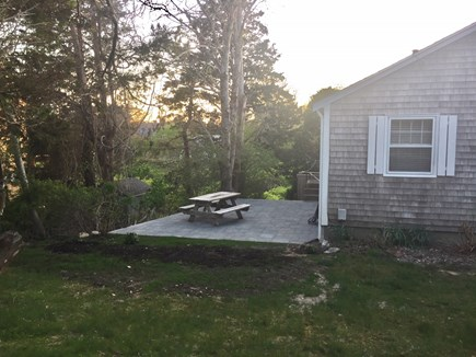 East Orleans Cape Cod vacation rental - Patio Area