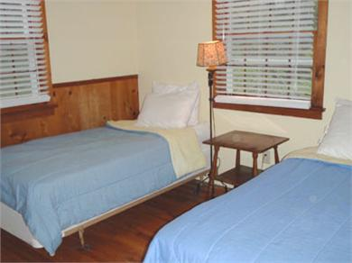 East Orleans Cape Cod vacation rental - First bedroom with twins