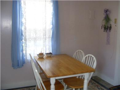 Yarmouth Cape Cod vacation rental - Dining area of kitchen seats four comfortably