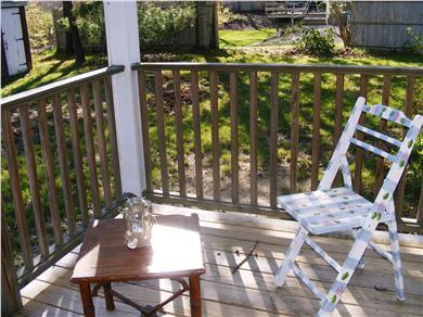 Yarmouth Cape Cod vacation rental - Lovely porch with views of open land (towards the sea)