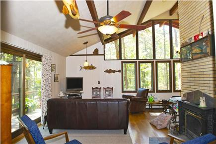 South Wellfleet Cape Cod vacation rental - Living room