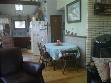 South Wellfleet Cape Cod vacation rental - Open living/dining and kitchen area