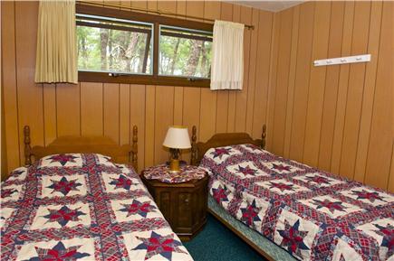 South Wellfleet Cape Cod vacation rental - Third Bedroom (2 twin beds)