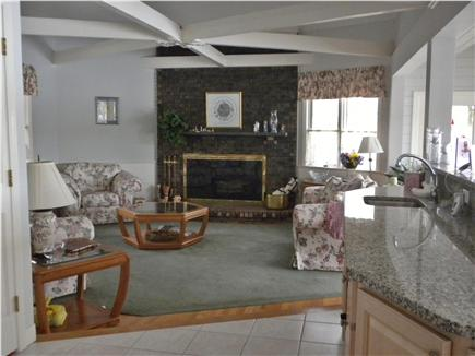Cotuit Cotuit vacation rental - Living Room with bay views