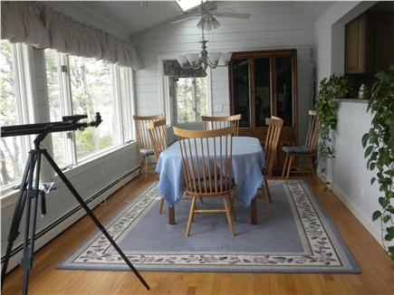 Cotuit Cotuit vacation rental - Upstairs dining room overlooking the bay