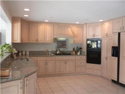 Cotuit Cotuit vacation rental - Kitchen with views of bay