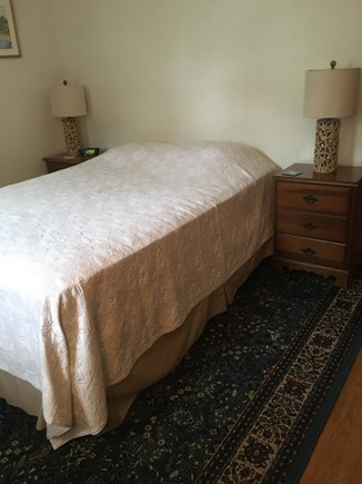 Dennisport Cape Cod vacation rental - Master bedroom with queen bed, multiple dressers.
