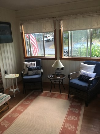 Dennisport Cape Cod vacation rental - Pleasant sun room With cable TV