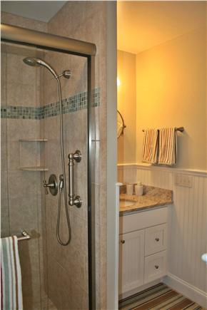 South Orleans Cape Cod vacation rental - Tiled Bath, Shower with Handheld, Granite Countertop