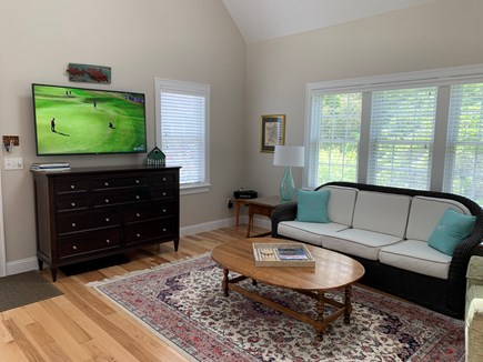 South Orleans Cape Cod vacation rental - 55 Inch Cable TV, Wireless Internet, DVD, and Bose Wave Music