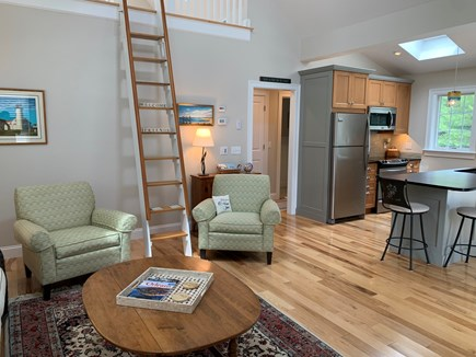 South Orleans Cape Cod vacation rental - Ethan Allen Furniture, Ladder to Loft (Decoration Only)