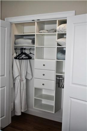 South Orleans Cape Cod vacation rental - Master Bedroom Closet