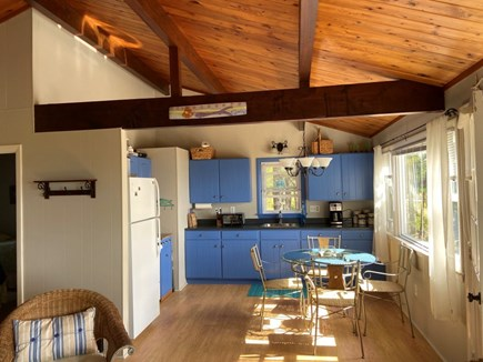 Wellfleet Cape Cod vacation rental - Cathedral ceilings.