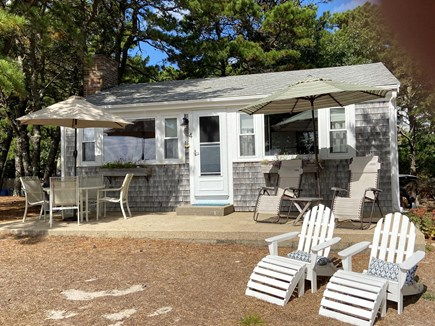 Wellfleet Cape Cod vacation rental - Cottage #4. Patio table, gas grill, plenty of seating!