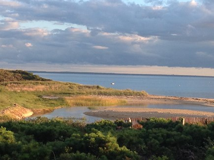 Wellfleet Cape Cod vacation rental - View from patio.