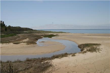 Wellfleet Cape Cod vacation rental - Tidal pool on beach in front of cottage