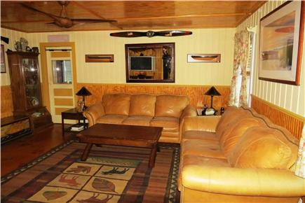 N. Eastham Cape Cod vacation rental - Living Room with Ceiling Fan