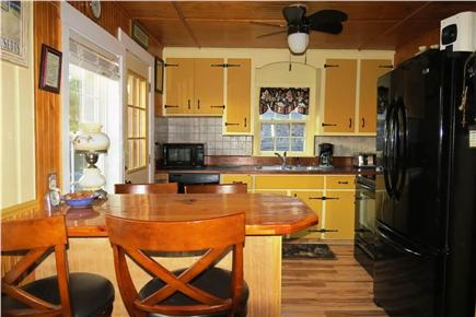 N. Eastham Cape Cod vacation rental - Kitchen with breakfast bar