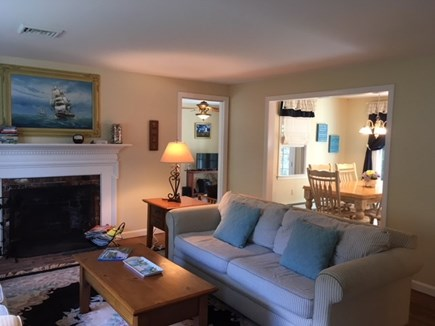 Harwich Cape Cod vacation rental - Living Room (alternate view)