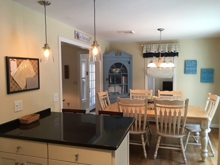 Harwich Cape Cod vacation rental - Open kitchen to dining room