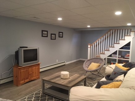 Harwich Cape Cod vacation rental - Lower Level Living