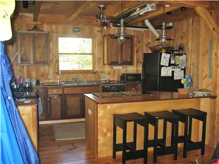West Harwich Cape Cod vacation rental - Kitchen with breakfast bar